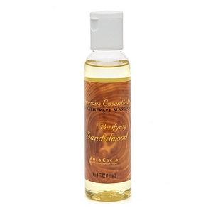 Aura Cacia Precious Essentials Aromatherapy Massage Oil