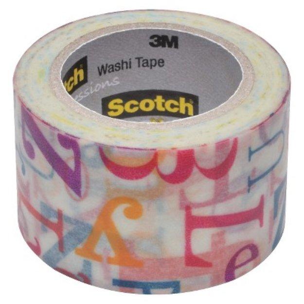 Scotch Washi Tape Cats 10mX30mm