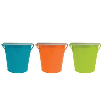 Shanghai Daisy Jelly Belly 21190P Citronella Mini Bucket Assorted Color - Pack of 32