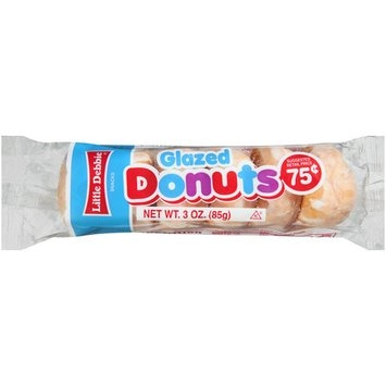Little Debbie Glazed Donuts, 3.0 oz