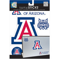NCAA Removable Laptop Sticker, Arizona Wildcats