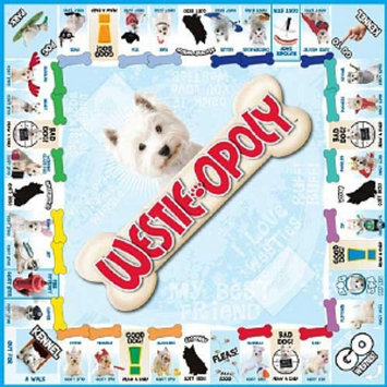 Westie-opoly Board Game, Ages 8+, 1 ea
