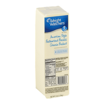 Weight Watchers American Style Cheese Product