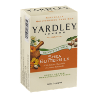 Yardley London Sensitive Skin Shea Buttermilk Moisturizing Bath Bar
