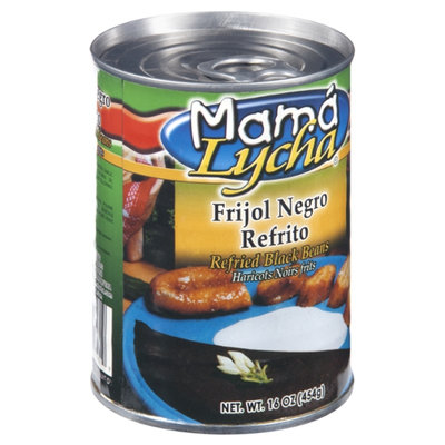 Mama Lycha Refried Black Beans