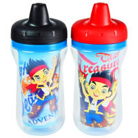 The First Years Disney Insulated Sippy Cup, Jake and the Never Land Pirates, 2 ea