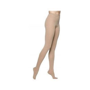 Sigvaris 860 Select Comfort Series 20-30mmHg Women's Closed Toe Pantyhose Size: L4, Color: Black Mist 14