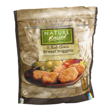 Nature Raised Farms Whole Grain Breast Nuggets