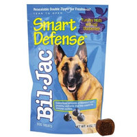 Kelly Foods Corporation Bil-jac Smart Defense Dog Treats for Dog, Size: 4 OUNCE, Count: 10