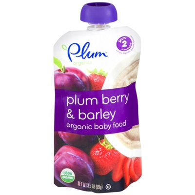 Plum Organics Organic Second Blends Fruit & Grain
