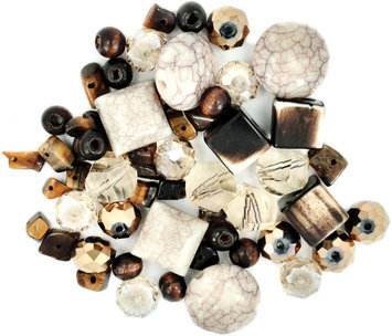 Jesse James 489416 Design Elements Beads 40 Grams-Cinnamon Toast