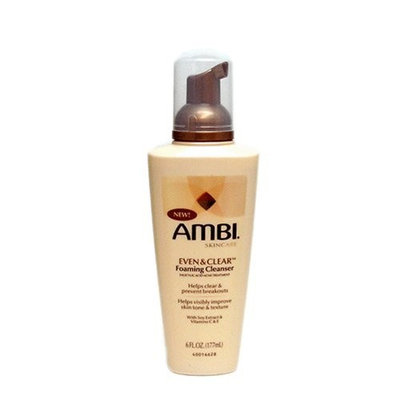 Ambi Skincare Even & Clear Foaming Cleanser, 6 Ounce