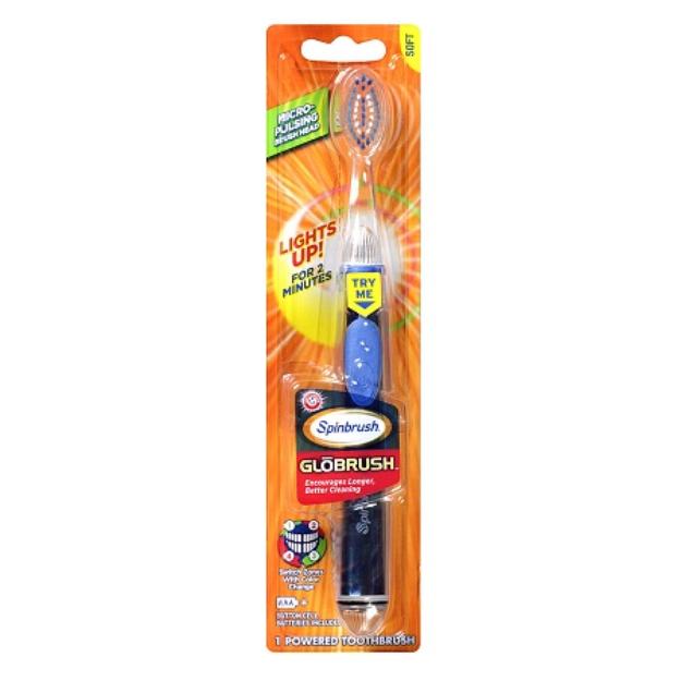 ARM & HAMMER™ SpinBrush GloBrush for Teens Powered Toothbrush