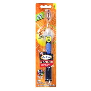 Arm & Hammer SpinBrush GloBrush for Teens Powered Toothbrush