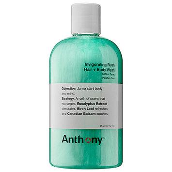 Anthony Invigorating Rush Hair + Body Wash 12 oz