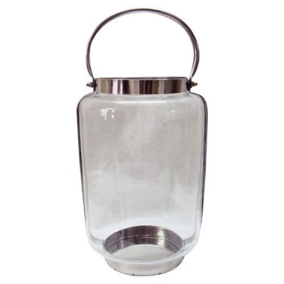 A & B Home Group Inc Glass/Metal Lantern