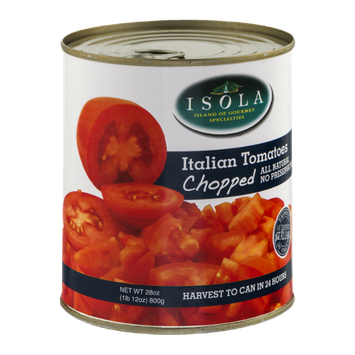 Isola Italian Tomatoes Chopped