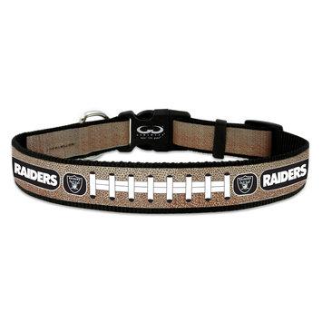Game Wear Inc NFL Oakland Raiders Reflective Dog Collar LG