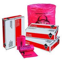 TOUGH GUY 31DK87 Hospital Isolation Bags,10 gal, PK1000