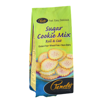 Pamela's Sugar Cookie Mix Gluten-Free Wheat-Free Non-Dairy