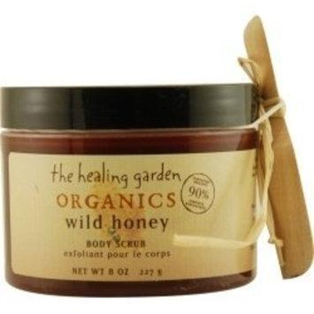 The Healing Garden Organics Body Scrub Wild Honey 8 oz.