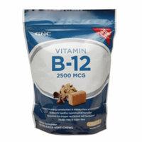 GNC Vitamin B-12 2500 MCG, Soft Chews, Chocolate Chip Cookie Dough, 60 ea