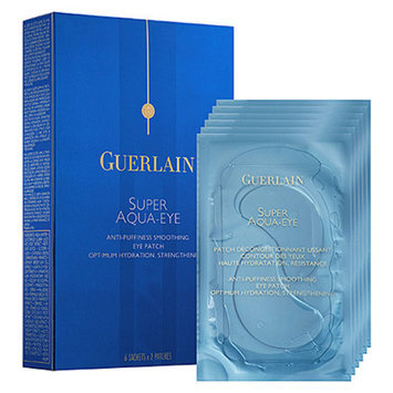 Guerlain Super Aqua-Eye Anti-Puffiness Smoothing Eye Patch 6 sachets x 2 patches