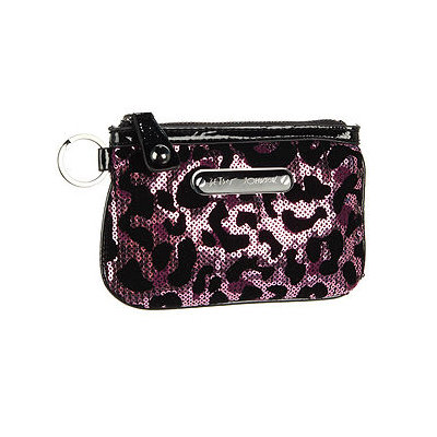 Betsey Johnson Handbags Cheetah Licious Top Zip