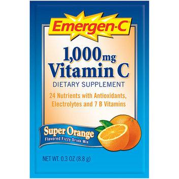 Alacer Corp. EV279 Vitamin Drink Mix Vitamins C/B 1000 mg 50ea/PK Orange