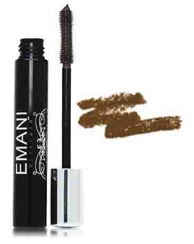 Emani Minerals Soy Infussed Mascara Chocolate Brown