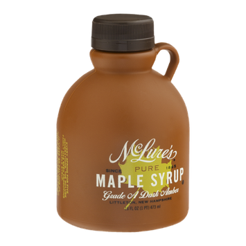 McLure's Pure Maple Syrup Grade A Dark Amber