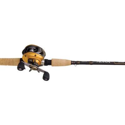 Quantum Aura Low-Profile Baitcasting Fishing Combo