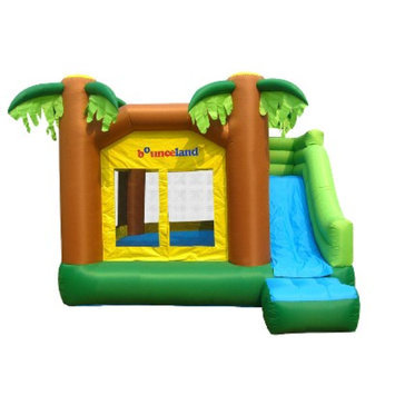 Bounceland Jungle Bounce House - Green
