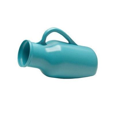 Graham Field Male Urinal, Plastic Urinal 1 1/4 QT., Blue, 1/Ea, GHF3213