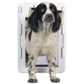 PetSafe Quick-Fit Pet Door, White