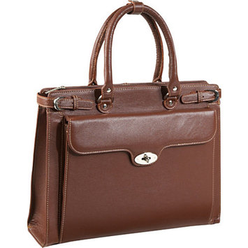 AmeriLeather Kingsley Laptop Briefcase