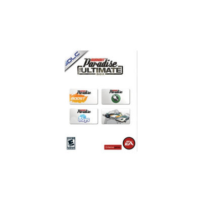 Criterion Games Burnout Paradise Bonus Vehicle Pack