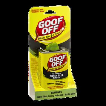 Goof Off Pro Strength Super Glue Remover