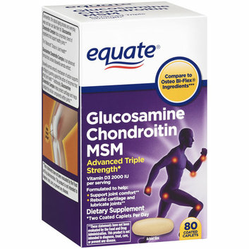 Equate Glucosamine Chondroitin MSM Dietary Supplement