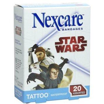 Nexcare Tattoo Waterproof Bandages-Bakugan-20ct