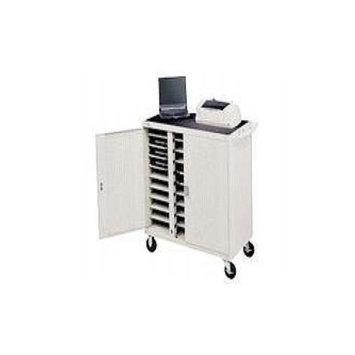 Bretford Laptop Storage Cart LAP30EULFR-GM - Notebook storage cart - gray