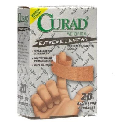 Curad Extreme Length Bandages, 3/4 x 4-3/4, 20/Box