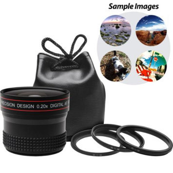 Precision Design 0.20x HD High Definition Fisheye Lens for Digital SLR Cameras