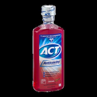 Act Anticavity Fluoride Mouthwash Cinnamon
