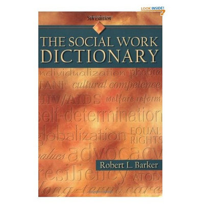The Social Work Dictionary, 5th Edition