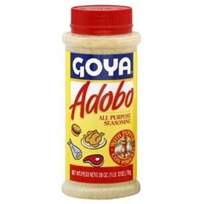 Goya Foods Adobo Seasoning with Pepper, 28-Ounce