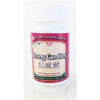Zhong Gan Ling Tablets, 100 ct, Plum Flower