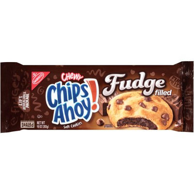 Nabisco Chips Ahoy! Chewy Fudge Filled Soft Cookies