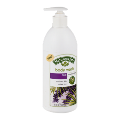 Nature's Gate Body Wash Velvet Moisture Acai