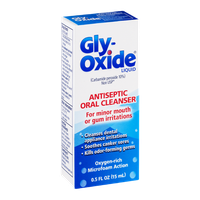 Gly-Oxide Liquid Antiseptic Oral Cleanser